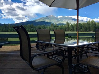 Mountain Home with AMAZING Views 1/2 Mile From Snowbowl Road