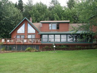 Spacious Log Cabin Perfect for Families and Pets