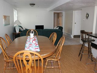 clean, comfortable, roomy, large kitchen, private entrance
