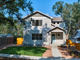 Brand new 5 bedroom 4 bath Craftsman Style home on quiet street near downtown