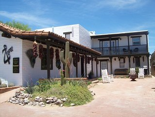 Large, Bright Apartment in the heart of Historic Tubac