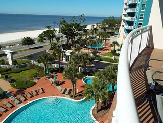 Legacy Towers 1 504 ~ 'Southern Breeze' Gulf Front Condo
