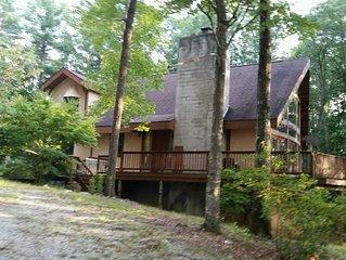 Rustic Mountain Cabin Getaway