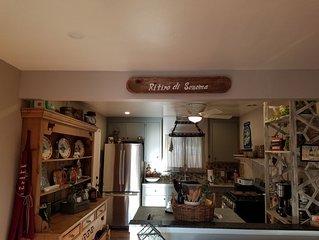 Quaint Italian Style Cottage in Sonoma CA