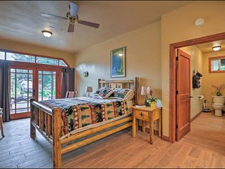 NEW ELEGANT RANCH SUITE  CABIN FEEL, Near UCSC