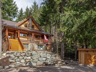 Craftsman style Chalet with breathtaking views of Whistler and Blackcomb mounti
