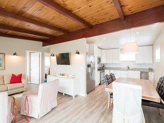Cozy 2 bedroom house, ocean views, in quiet neighborhood, short drive to beach.