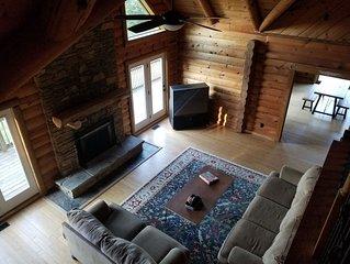Nolin Lake log cabin