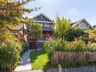 Beautiful, cozy 3BR in Posh Kitsilano, a must!