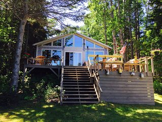 Oceanfront Maine Acadia Cottage