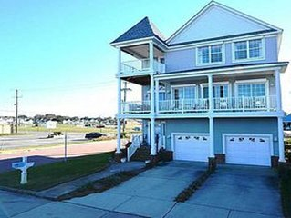 Immaculate ocean front 3 story beauty