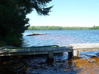 Pictured Rocks area Lake Front Cottage  in Upper Peninsula Michigan