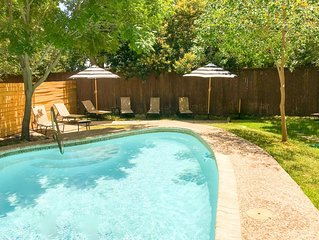 NEW! House w/Private(Not Shared)Pool; walk to zoo & museums, close to downtown