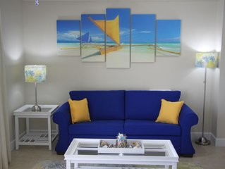 Royal Beachfront Unit, Sleeps 6, Walk to Pier Park