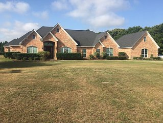 A 5 bedroom beautiful custom home located 5miles away from downtown Tyler, Tx.