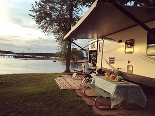 Enjoy Luxury camping at any campsite location.