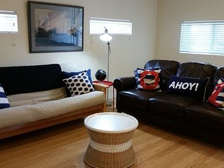 Private 2 BR Apt -- Less than 1 mi to Downtown & USNA gate