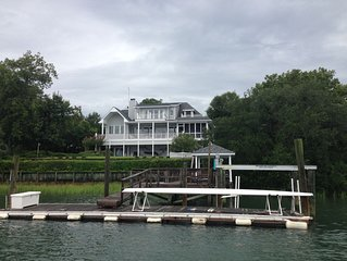 Privacy, Amazing Waterfront Views 'Maison Blanc': ICW/Figure 8 Sound: sleeps 10