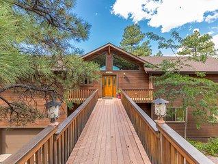 Big cabin in Munds Park close to Sedona, Flagstaff, NAU, Grand Canyon, hunting