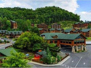 Smokey Mountain Resort with in door water park, TN