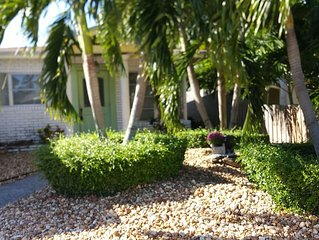Hip & Fun Wilton Manors Home for 7 (Ft. Lauderdale Area)