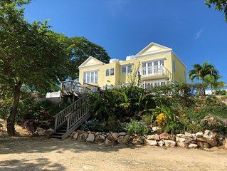 New & Private Luxury Beachfront/Oceanfront Townhouse in Negril, Jamaica