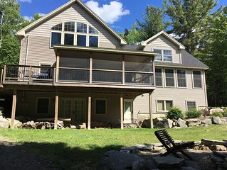 Beautiful lake house in Holden with miles of hiking and technical bike trails