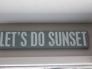Let's Do Sunset on the Emerald Coast Beach!