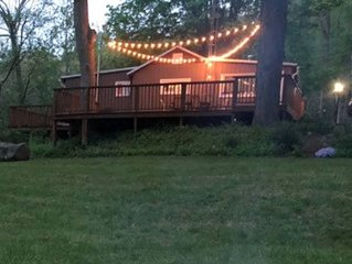 Cabin at the river of the little owls!! 2 bedroom cottage directly on the river.