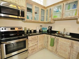 Jaco Beach awesome remodeled condo on the main strip. Walk to the beach and town