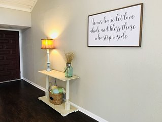 Recently remodeled townhome steps away from Texas A&M campus