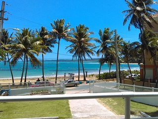 AMAZING BEACHFRONT PARADISE IN LUQUILLO BEACH ONE OF THE BEST IN THE ISLAND.