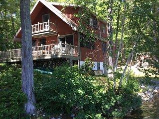 delightful lakefront cottage