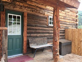 Half Street Haven, A Lake City Custom Log Home with Stunning Views