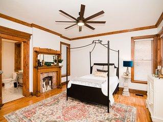 Hawkins House Lower Suite Downtown Jefferson City