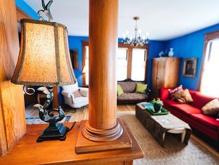Elegant Light-Filled Hudson Spa Home with Designer Sauna. Swimming Pool: 2020!