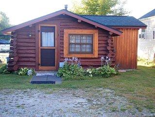 Crooked Lake Waterfront Log Cabin