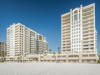 Beautiful Luxury Condo on Pristine Clearwater Beach