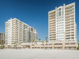 Beautiful Luxury Condo on Pristine Clearwater Beach