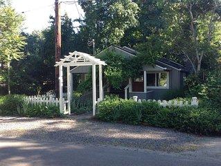 Standish Cottage is Creekside