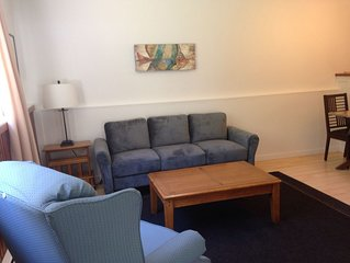 Charming, Main Floor Apartment in a park-like setting just off old Island Hwy
