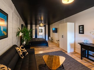 Downtown Contemporary/ Vintage with Hardwood Floors-Immaculate!