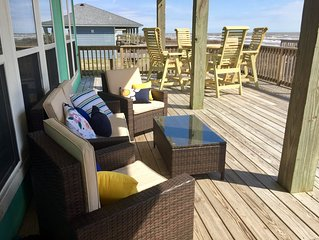 Beach Blessing—70 feet from beach with large, great patio and views