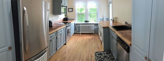 Kitchen and laundry corner