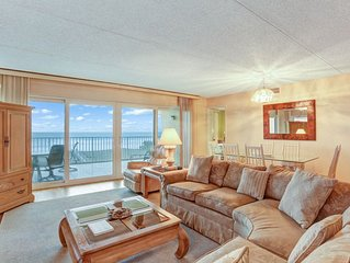 Oceanfront condo in small, quiet complex.  1 Car garage and 1 outside parking. G