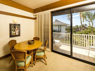 Embrace Island Energy! Stylish Condo w/Kitchen, Lanai, WiFi–Kiahuna Plantation #
