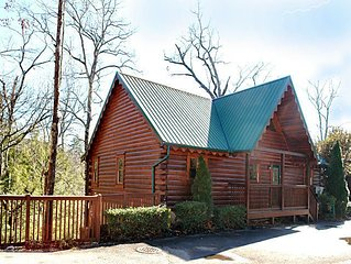 Get above it all in this 4 BR/4 Bath true log chalet with granite cuntertops/Sta
