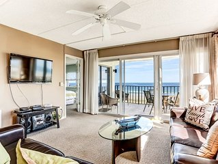 4th Floor 2 Bed/2 Bath Oceanfront/Corner condo sleeps 6, renovated.  Oceanfront