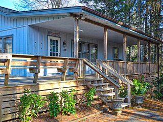 The Mountain House is a two-bedroom, two-bath home perfect for the family!