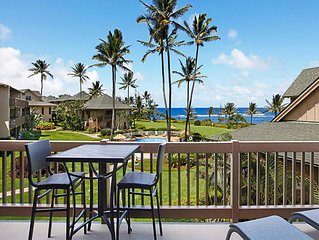 Island Vibe Suite w/Ocean Vista Lanai, Kitchen Ease, WiFi, Ceiling Fans–Kaha Lan